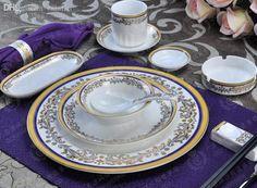 Wholesale Bone China Dinner Set Ceramic Dinner Set China Tableware Porcelain Dinnerware Set 160311# Clearance Dinnerware Sets For ed Dinnerware Sets From Buypal, $416.09| Dhgate.Com