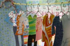 Shoebox Crafts : DIY A Paper Wardrobe