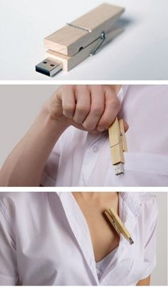 usb flash drive made of wood 7 e1283619814728 Amazing and Coolest Things Made of Wood