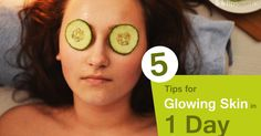 5 TIPS FOR SKIN GLOW IN ONE DAY WITH NATURAL AYURVEDIC HOME REMEDIES  #Beauty #BeautyTips #Ayurveda #HomeRemedies #SkinGlow