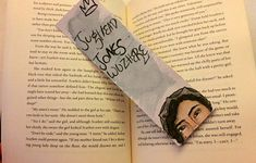 "Made to order: Rivedale ""Jughead Jones wuz here"" hand painted bookmark"