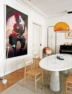 East 70Th Street Apartment Dining Room  Designthad Hayes Inc Cool Apartment Dining Room Decorating Inspiration