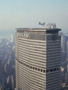 Pan Am building NYC