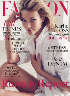 Karlie Kloss on FASHION Magazine September 2016 Cover