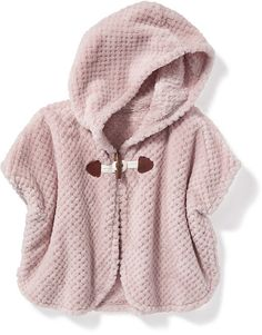 Cozy Hooded Poncho for Toddler Girls Adorable! #affiliate
