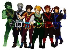 Erraday's art of Ninjago || I love these dudes so much T3T