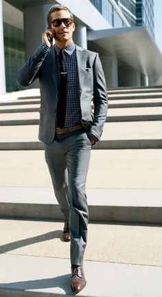 Paul Walker's a dork, but he doesn't dress like one. (original caption)
