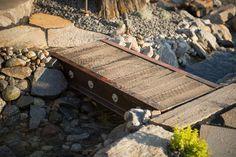 Industrial, Reclaimed Wood Bridge