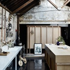 The Kinfolk Home: Interiors for Slow Living by Nathan Williams Published by Artisan Books I really love looking at interior design f. Style Kinfolk, Kinfolk Magazine, Brick And Wood, Scandinavian Interior Design, The Way Home, Slow Living, Decoration, Interior And Exterior, Kitchen Interior