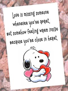 Check out this item in my Etsy shop https://www.etsy.com/listing/265870759/love-greeting-card-snoopy-heart