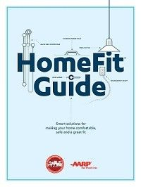 How to Make a Home a Lifelong Home - AARP HomeFit Guide - pdfs may be downloaded from aarp.com/homefit