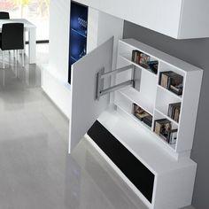 30 Unique Bonus Area Ideas for Your House Wohnzimmer / Sideboard Bedroom Tv Stand, Tv In Bedroom, Bedroom Storage, Living Room Tv Unit, Living Room Decor, Bedroom Decor, Living Rooms, Bonus Room Design, Design Bedroom