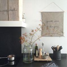 Deze prachtige keuken van Manon0903 kwam ik tegen op onze Binnenkijken App. I…