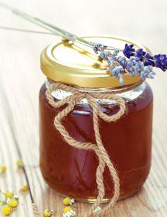 Homemade Herb-Infused Honey