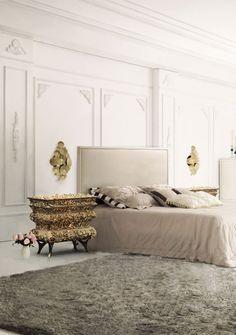 20 Luxurious Bedroom Design Ideas To Copy Next Season | Home Decor. Interior Design Inspiration. Bedroom Decor. #bedroomdesign #bedroomdecor #homedecor Read more: https://www.brabbu.com/en/inspiration-and-ideas/interior-design/luxury-bedroom-design-ideas-want-copy-season