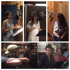 Today's #HAMILTONCastAlbum session with the Schuyler Sisters is in the books! #HamiltonBway #YayHamlet