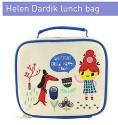 Helen Dardik lunchbox for PaperChase