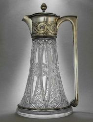 Russian Claret jug, by Mikael Gratchev - Moscow 1907