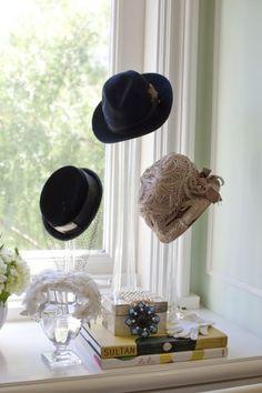 Lubov Azria's closet in her Hills estate, dubbed La Maison du Soleil. Hat Storage, Closet Storage, Closet Organization, Market Displays, Craft Show Displays, Glass Waterfall, Hat Display, Closet Tour, Hanging Closet