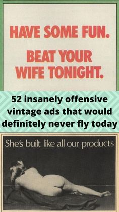 52 #insanely offensive #vintage ads that would #definitely never fly #today Wtf Funny, Funny Facts, Funny Memes, Hilarious, Best Places To Travel, Cool Places To Visit, Online Shopping Fails, Grey Hair Transformation, Funny Prank Videos