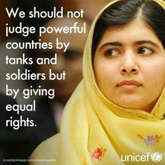 #Malala - winner of the Shakarov Freedom Price. Well deserved, congratulations! 2013