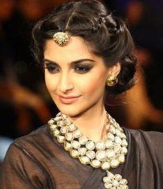Fullonshaadi - Indian Bridal Accessories - 10 Best Maang Tikka Designs - Borla Sonam Kapoor