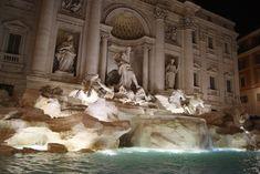Fountain di Trevi in Rome// VoyageCompass Rome, Fountain, Italy, Painting, Art, Italia, Painting Art, Paintings, Kunst