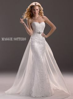 Maggie Sottero Wedding Dresses - Search our photo gallery for pictures of wedding dresses by Maggie Sottero. Find the perfect dress with recent Maggie Sottero photos. Lace Wedding Dress, Wedding Dresses 2014, Designer Wedding Gowns, Gorgeous Wedding Dress, Wedding Attire, Bridal Dresses, Bridesmaid Dresses, Sheath Dresses, Pageant Dresses