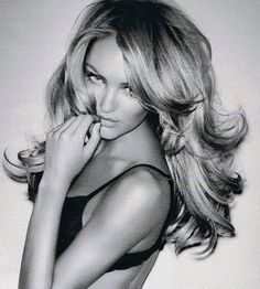 victoria's secret hair.. if only we all could have personal stylists to make our hair look this good! lol