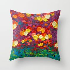 Rainbow Bubbles teardrop rain abstract painting PILLOW CASE @pointsalestore Society6 #PillowCover #CostumPillow #Cushion #CushionCase #PersonalizedPillow #painting #oil #acrylic #aerosol #digital #pattern #surrealism #expressionism #popart #abstract #flower #daisy #fullcolor #summer #happy #hippie #hipster #girly #girls #mothersday  #love