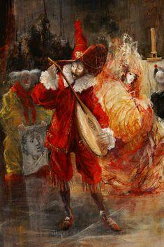 ''El Saltimbanque'' (detail) Marcel Nino Pajot