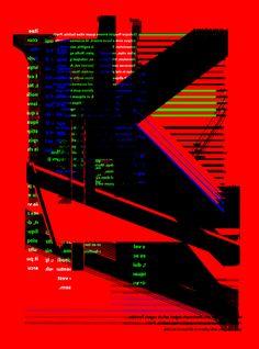 Japanese Poster: Cryptogram. Shunya Fujita (Fundam). 2014