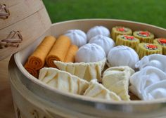 a must have for every Asian child. Felt Food Dim Sum 5piece Lunch by FiddledeeDeeCraft on Etsy, $20.00
