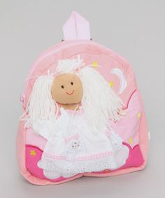 Take a look at this Pink Angel Backpack by Powell Craft on #zulily today!