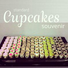 Mini cupcakes bites for souvenirs