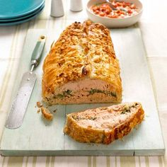 Mary Berry's Salmon En Croute Recipe | Cook Up A Feast by Mary Berry  Lucy Young | Recipes | Food | Red Online