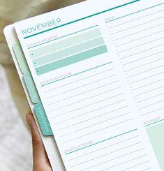 Plum Paper Today's Schedule, Plum Paper Planner, Custom Planner, Bullet Journal Writing, Planner Layout, Priorities, Cover Design, Planners, Career
