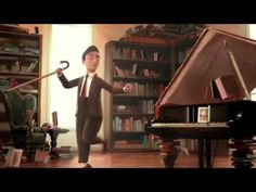"""The Fantastic Flying Books of Mr. Morris Lessmore"" directed by William Joyce and Brandon Oldenburg. Spanish Classroom, Teaching Spanish, Best Short Films, Richard Wagner, Movie Talk, Ap Spanish, Film D'animation, Lectures, Kids Videos"