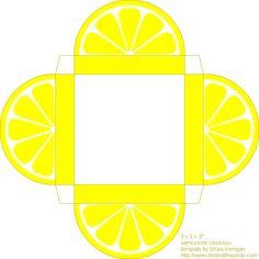 Printable Citrus box for little Favors :)