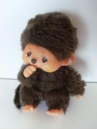 Monchichi; I had one like this as a kid...