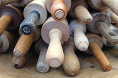 9 Vintage Kitchen Finds to Look for at Flea Markets: Rolling Pins