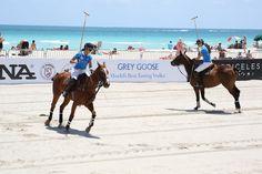 Celebrating the Women's World Polo Cup in Miami Beach.