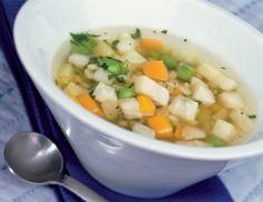 Kartoffel-Gemüse-Suppe mit Zartweizen - Rezept - ichkoche.at
