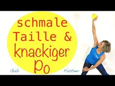💛 straffe Körpermitte und runder Po - YouTube Pilates Workout Videos, Fitness Workouts, Pilates Poses, Pilates Video, Yoga Fitness, Health Fitness, Yoga Am Morgen, Power Yoga, Military