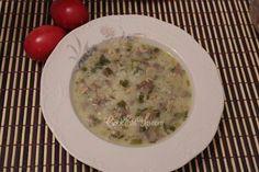 Μαγειρίτσα Greek Recipes, Cheeseburger Chowder, Soup, Meat, Cooking, Foods, Kitchen, Food Food, Food Items