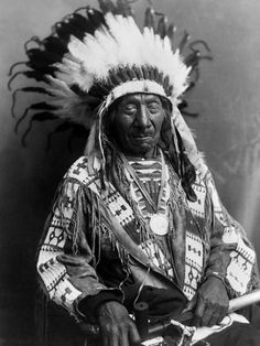 Red Cloud (1822-1909) Chief of Oglala (Sioux) from 1868-1909 Led a successful campaign in 1866-1868 known as Red Cloud's War over control of Powder River Country in Northwestern Wyoming & Southern Montana.