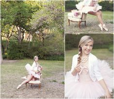 Wish I had done these with my Senior photos! Great idea for a ballerina...