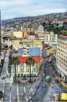 Photograph - Valparaiso, Chile