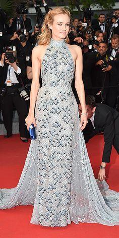 Diane Kruger. Love her style