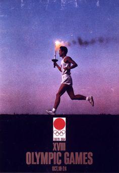 Tokyo 1964 Summer Olympics/  poster design No.4 / by Yusaku KAMEKURA